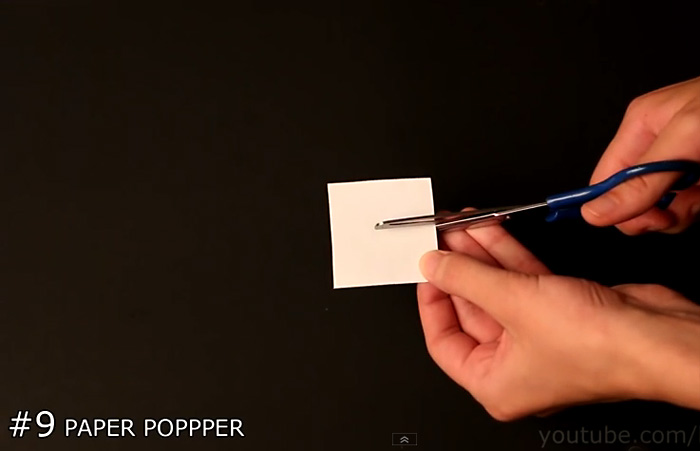 Как сделать из бумаги хлопушку самую громкую