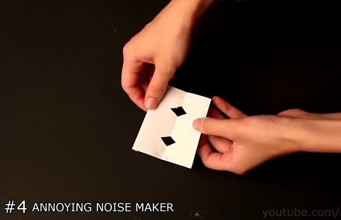 Видео-инструкция: Простейшая бумажная гуделка