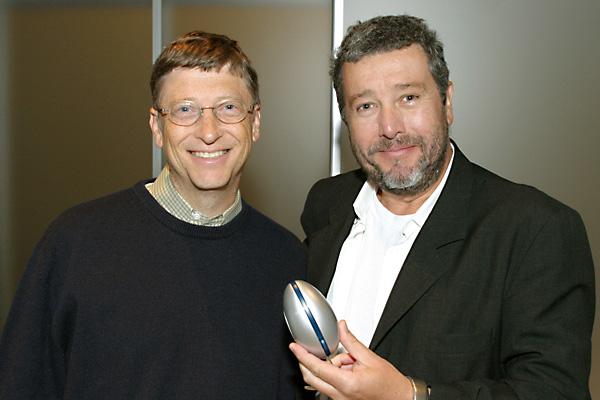 Филипп Старк, Билл Гейтс и компьютерная мышка