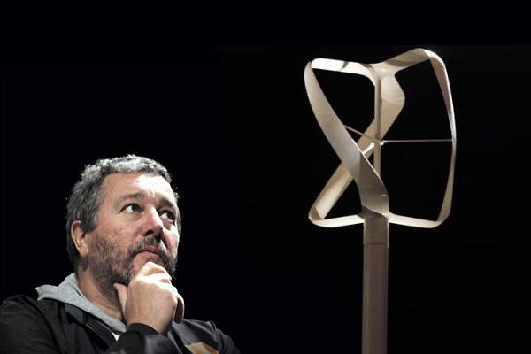 Ветряная турбина Филиппа Старка (Philippe Starck)