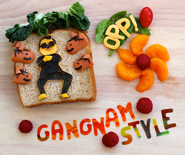 Еда Gagnam Style