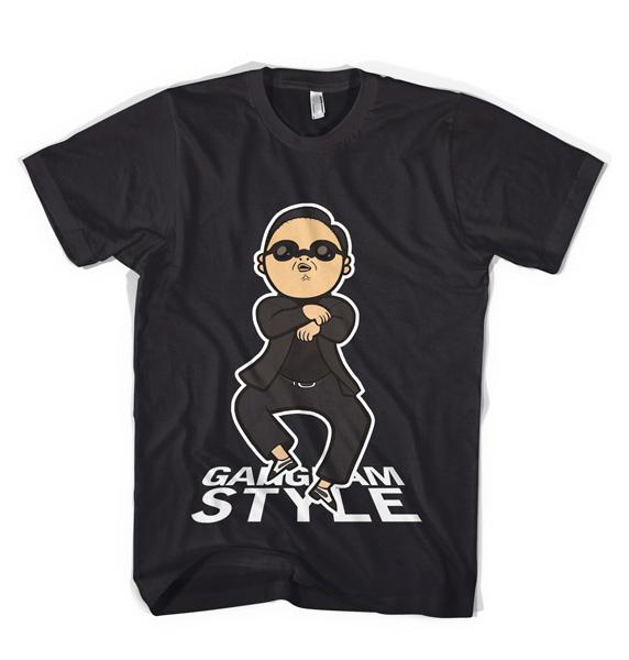 Оригинальная футболка в стиле PSY Gangnam Style