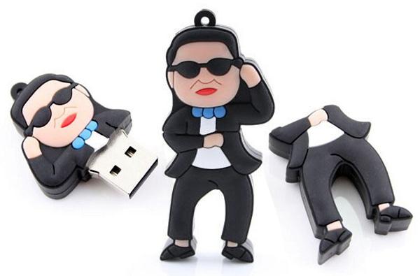USB флешка в форме фигурки рэпера PSY