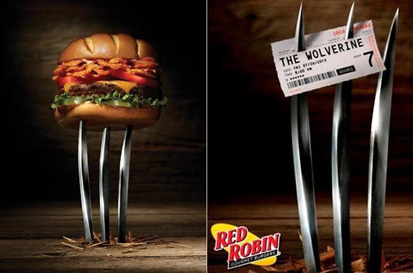 Специальные бургеры к премьере фильма «Росомаха: Бессмертный»