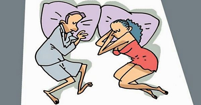 Поза во время сна характеризует отношения внутри пары