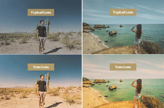 Очки с возможностью накладывать фильтр на изображение