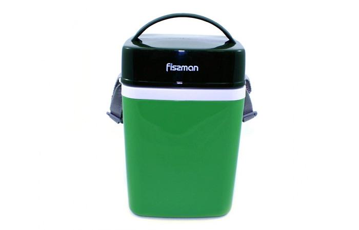 Термос для пищи с тремя контейнерами.