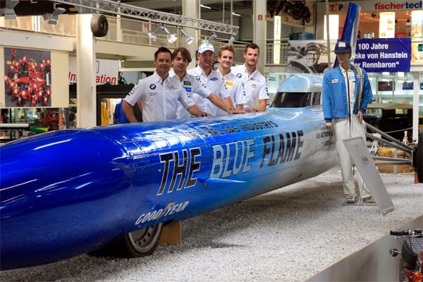 В 1975 году «The Blue Flame» был продан за 10 тысяч долл. в институт технологии газопереработки