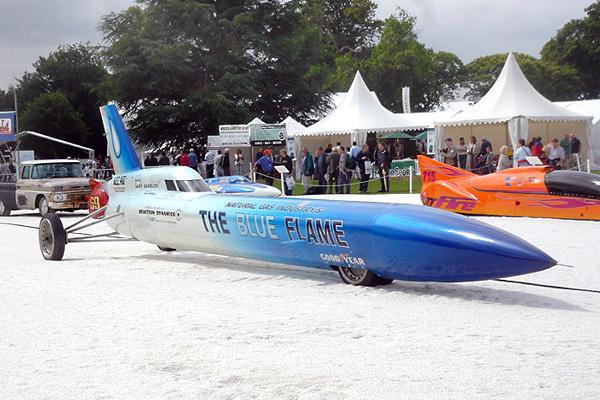 Мировой рекорд скорости был поставлен «The Blue Flame» в 1970 году