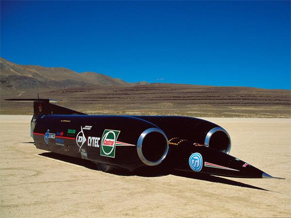 Автомобиль Thrust SSC