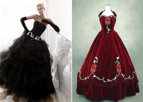 ТОП – 10 самых необычных свадебных платьев