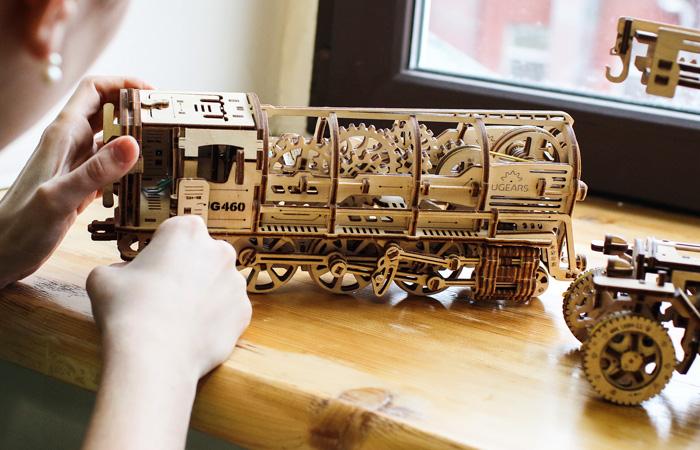 Конструктор 3d деревянные пазлы