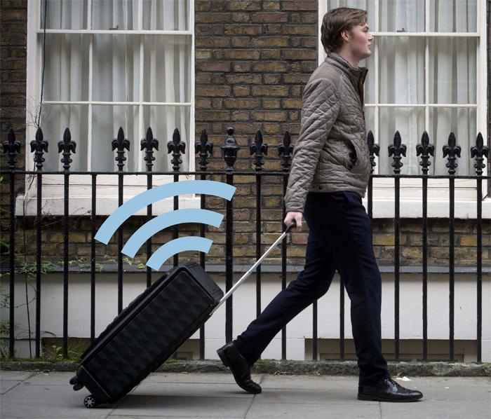 «Умный» чемодан-трансформер, который невозможно потерять.