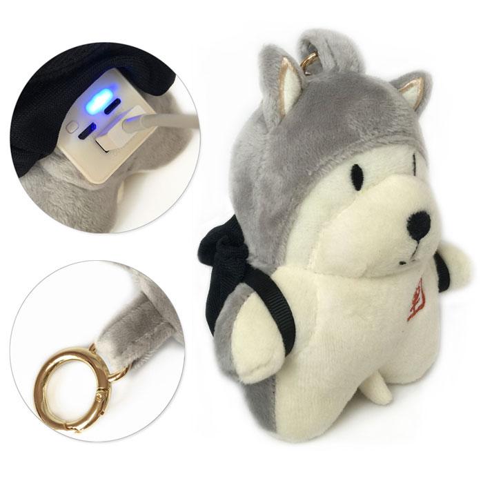 Внешний аккумулятор в виде собаки.