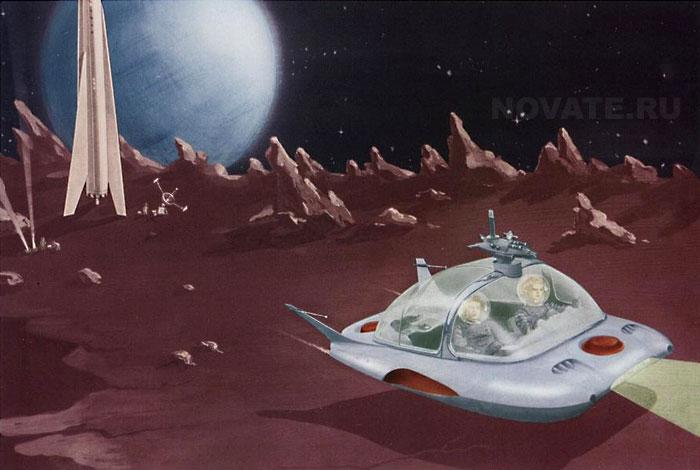 1959: Внеземной транспорт для кино.