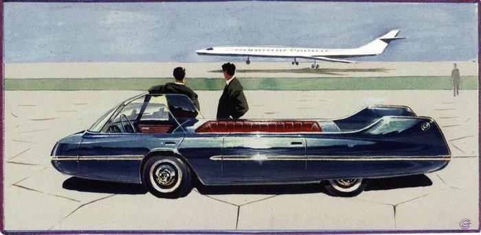 1962: Правительственный автомобиль.