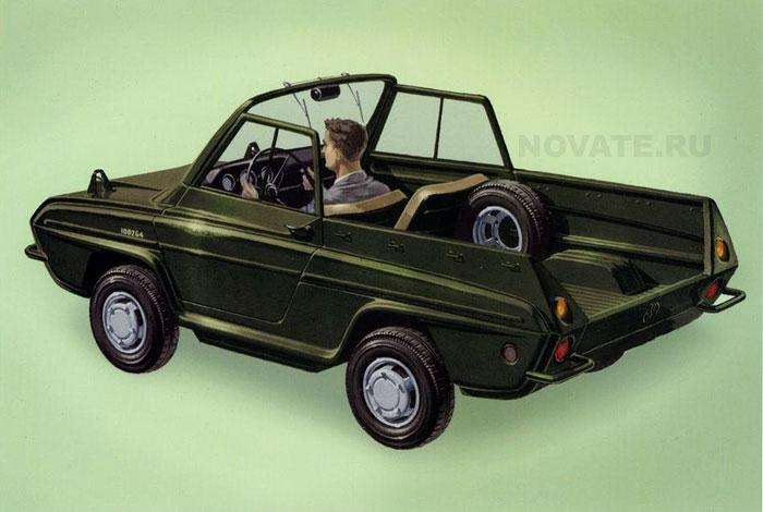 1964: Мини-внедорожник.