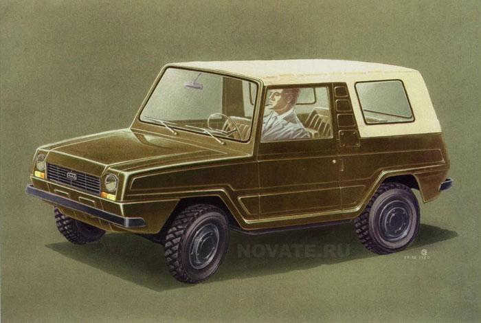 1980: Концепт ЛуАЗ.