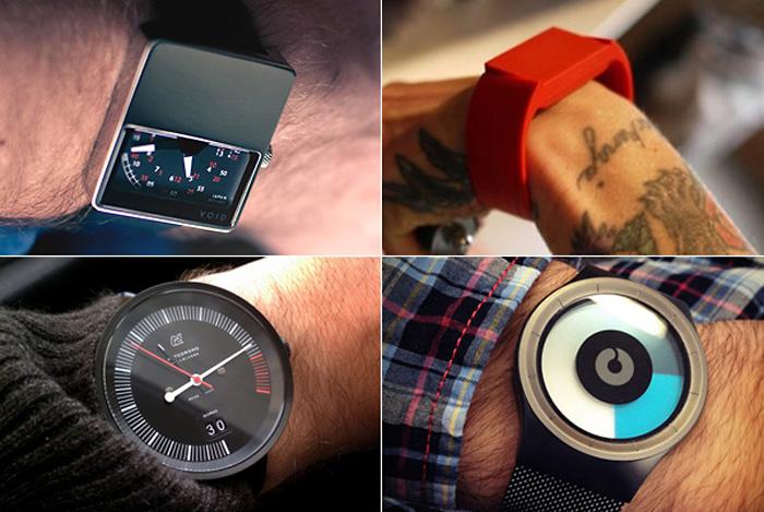 Дизайнерские часы — необычные подарки на Новый год