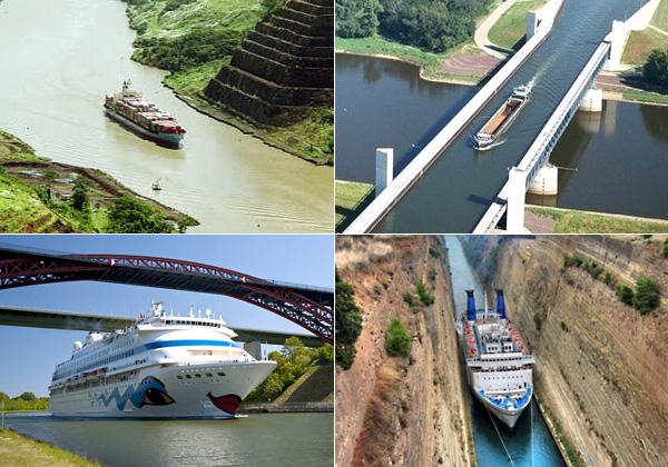Самые выдающиеся судоходные каналы мира