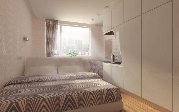 интерьер спальни на нахимовском проспекте