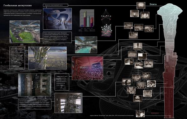 Мобильный концертный комплекс - схема-экспликация.