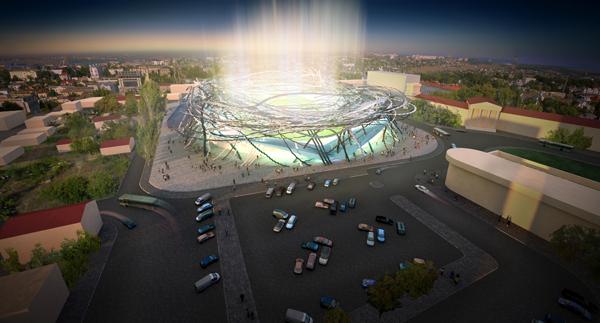 Проект футбольного стадиона ФК Севастополь