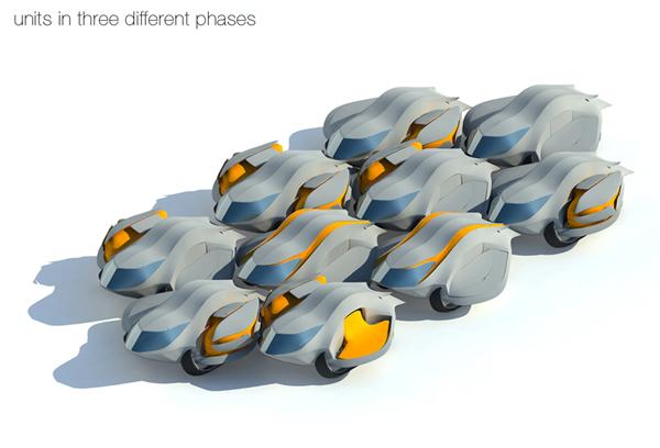 Плотная группировка модулей обеспечивает хорошее сообщение между ними.