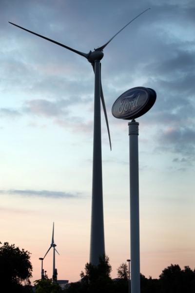 Европейские заводы Ford переходят на возобновляемую энергетику