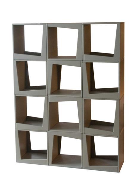 Стеллаж кубики