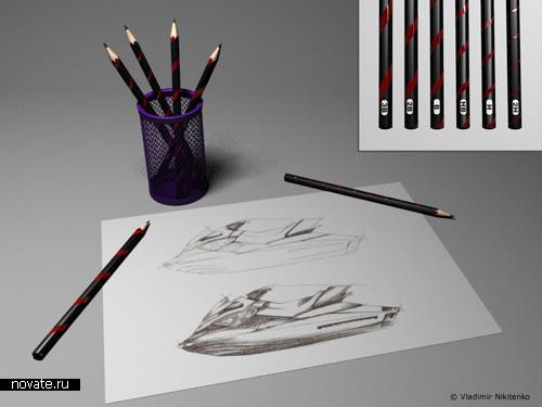 Полосатые карандаши