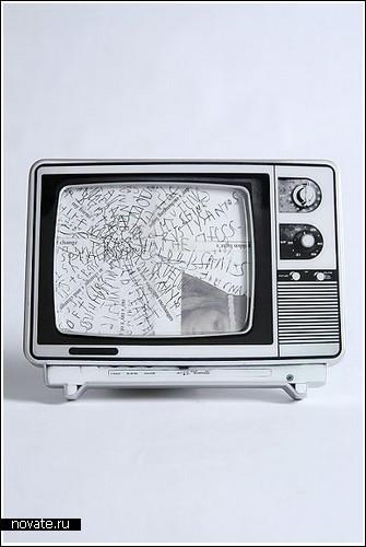 Рамка в виде телевизора