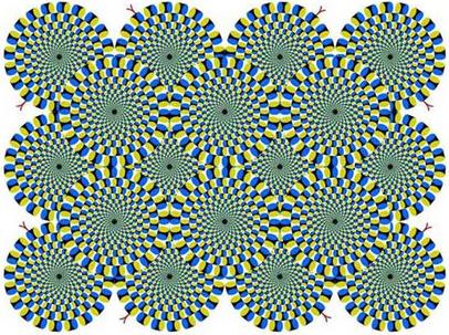 Психоделическая иллюзия Акиоши Китаока