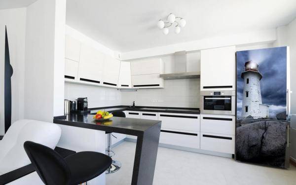 Магнитное покрытие и большие магниты для холодильника от Kudu Magnets