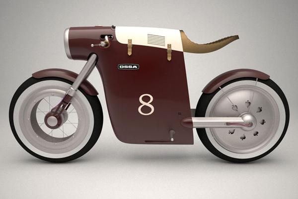 Итальянский электромотоцикл Monocasco