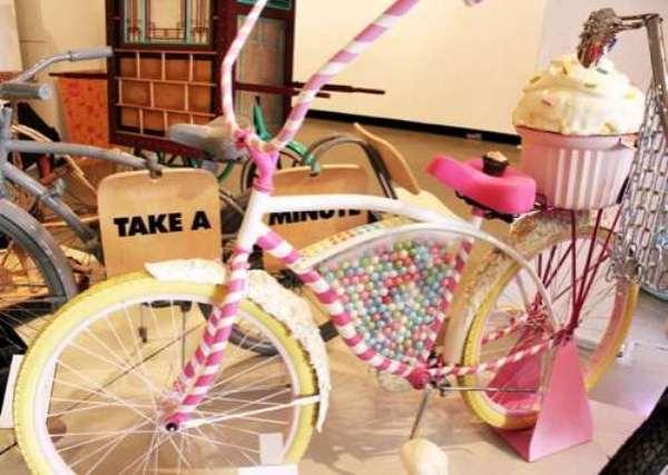 Велосипед от Бритты Хоуп - мечта сладкоежек