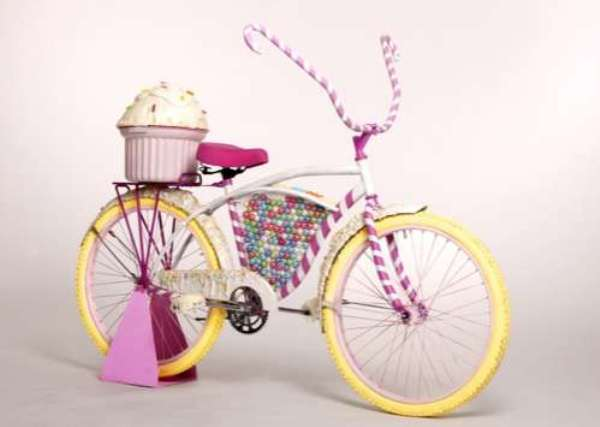 Велосипед-вкусняшка от Бритты Хоуп