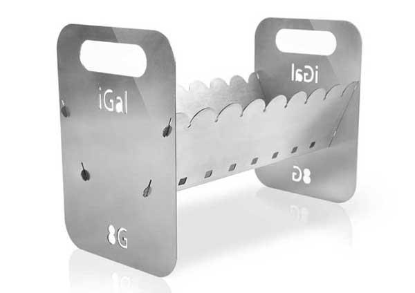 iGal 8G - рассчитан на 8 шампуров.