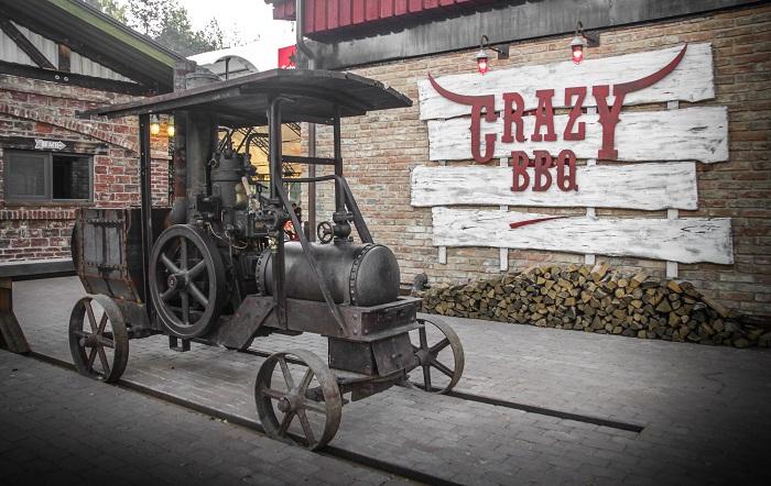 Загородный ресторан Crazy BBQ