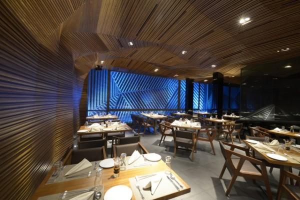 Auriga: креативный ресторан и ночной клуб в Индии