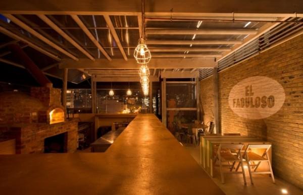 El Fabuloso: панорамный акустический бар в Боготе