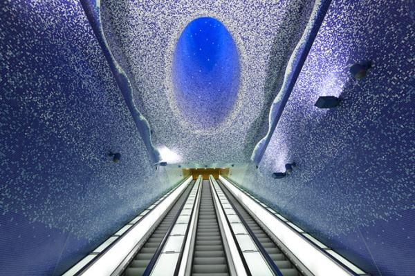 Новая станция метро Toledo Metro Station