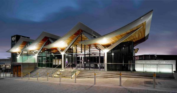 Эко-реконструкция станции Rotherham central station в Ротерхэме