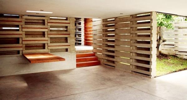 Casa Pentimento - сборный бетонный дом в стиле LEGO