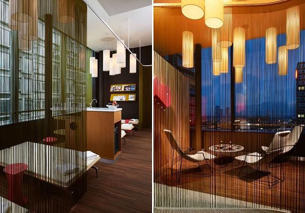 25 Hours Hotel - креативный отель в Цюрихе (Швейцария)