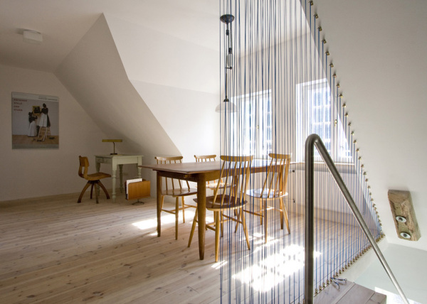 Apartment in Fohr – эклектичная квартира в помещении старого склада