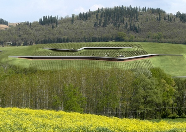 Ультра-современный винный завод в Италии