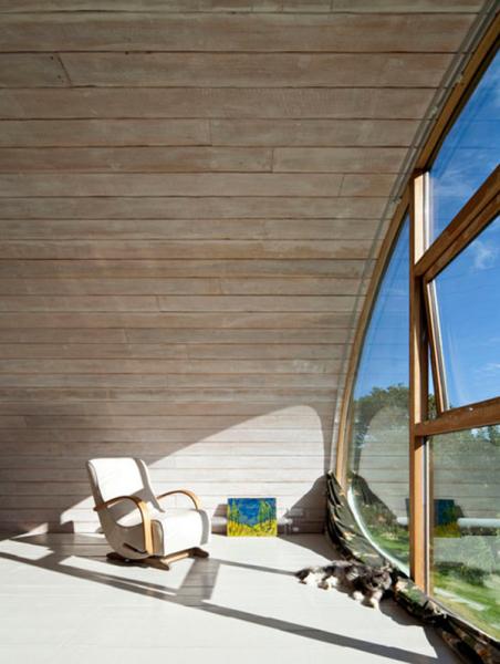 L-shaped – креативное расширение традиционного деревенского дома в Англии