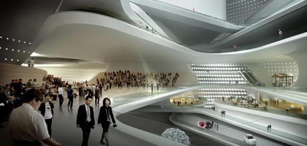 National Art Museum – проект пекинского музея от UN Studio