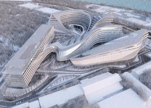 Beko Masterplan— многоцелевой комплекс от Захи Хадид вБелграде